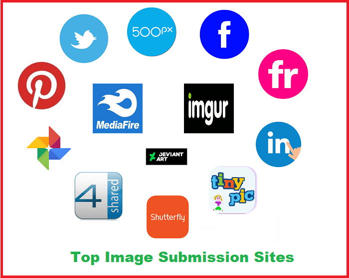Top 50+ High PA and DA Image Submission Sites List 2019